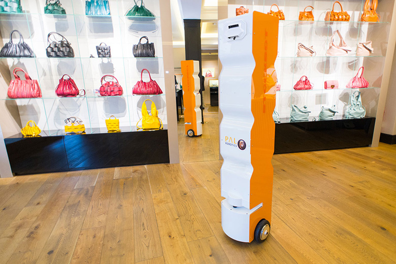 An autonomous robot for inventory-taking