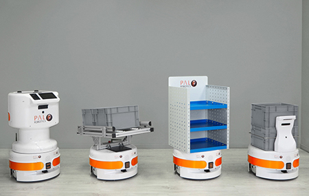 TIAGo Base Mobile Robots for logistics