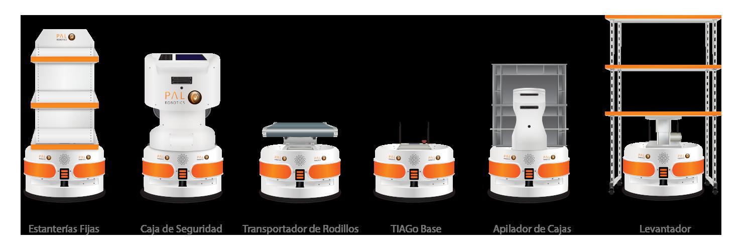 Configuraciones TIAGo Base