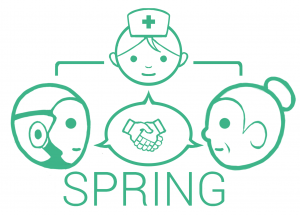 SRPING project logo