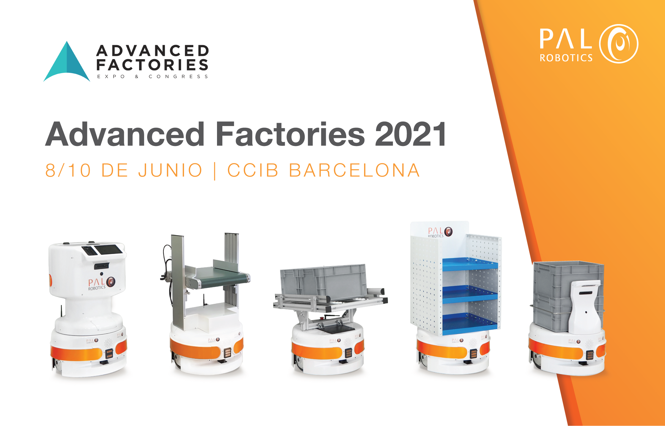 Advanced Factories PAL Robotics