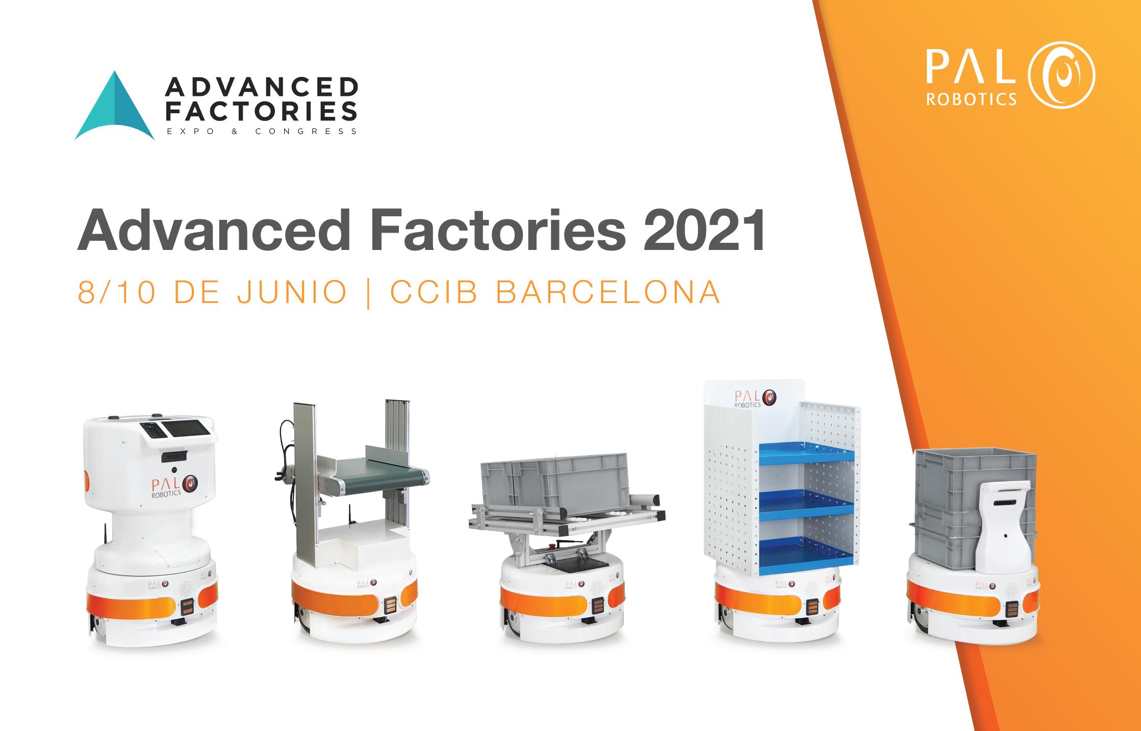 Advanced Factories PAL Robotics